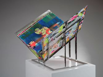 Exhibition view of Shinro Ohtake, Paper - Sight, 2016 at STPI - Creative Workshop & Gallery Singapore. © STPI/Shinro Ohtake.