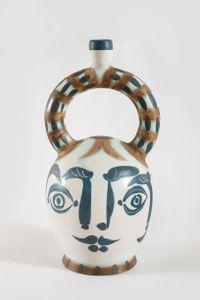 Vase aztèque aux quatre visages, (A.R.401) by Pablo Picasso contemporary artwork sculpture