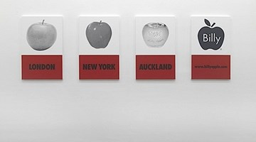 Contemporary art exhibition, Billy Apple, A History of the Brand at Starkwhite, Auckland, New Zealand