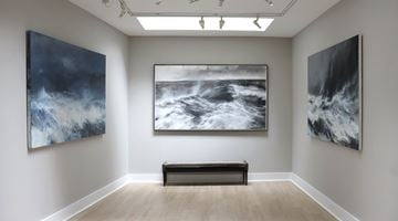 Contemporary art exhibition, Janette Kerr, States of the Sea at Cadogan Contemporary, London