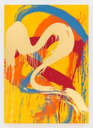 Rainbow Delight by Max Gimblett contemporary artwork