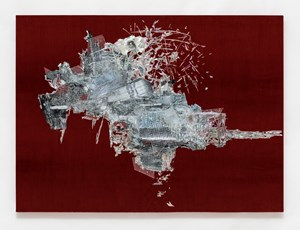 Untitled (Willing To Be Vulnerable - Red Velvet #5 DDRG13RB) by Lee Bul contemporary artwork