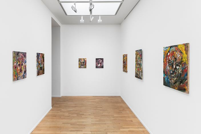 Exhibition view: Jim Dine, A Day Longer, Galerie Templon, Paris (7 November 2020–30 January 2021). Courtesy Templon, Paris - Brussels. Photo: Nicolas Brasseur.