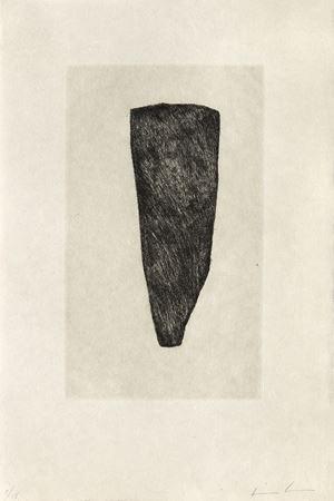 Stabat mater black & grey IX by James Brown contemporary artwork