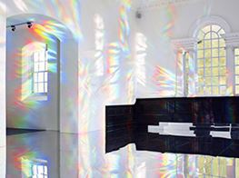 The South Korean artist painting a Yorkshire chapel with prismatic light