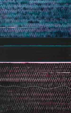 Raco del Duc, 1 (In Serpis) by Juan Uslé contemporary artwork