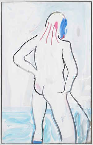 Rouge, Bather by Spencer Sweeney contemporary artwork