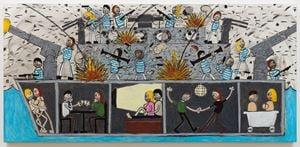 Boat by Jay Stuckey contemporary artwork painting