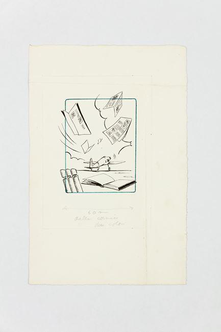 Untitled (Ali d'Italia) by Bruno Munari contemporary artwork