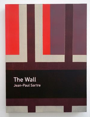 The Wall / Jean-Paul Sartre by Heman Chong contemporary artwork