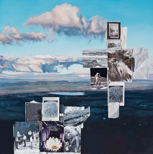 The Black Range by Lyndell Brown & Charles Green contemporary artwork