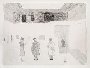 I skrivande stund/ As I am writing this by Jockum Nordström contemporary artwork