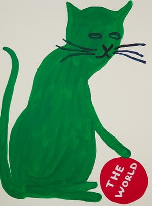 Untitled by David Shrigley contemporary artwork