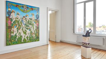 Contemporary art exhibition, Tom Poelmans, BALLROOM PROJECT #3 at BorgerHub, Brussels
