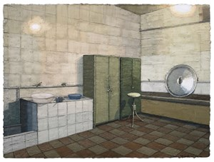 Kitchen With Cabinets by Zhang Yexing contemporary artwork