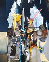 Remedy by Rodel Tapaya contemporary artwork painting