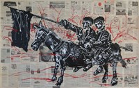Heroic Epic I 英雄史诗⼀ by Sun Xun contemporary artwork works on paper