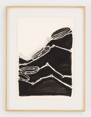Untitled (Wave Theory with Floaters) by Al Taylor contemporary artwork