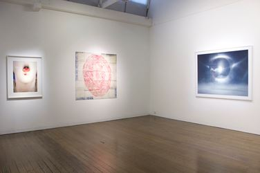 Exhibition view: Group Exhibition, The Circle Divine, Arc One Gallery, Melbourne (20 September–21 October 2017). Courtesy Arc One Gallery.