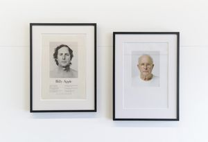 Head Height 2, 3 & 4 by Billy Apple contemporary artwork