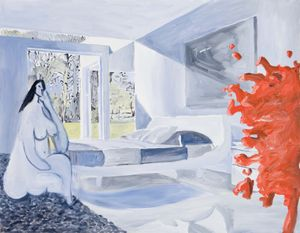 Jules and Victorine Hotel by Alun Williams contemporary artwork