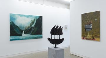 Contemporary art exhibition, Group Exhibition, Beyond Kāpene Kuku / Captain Cook at Page Galleries, Wellington