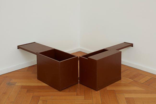 offen halb offen halb leer by Vaclav Pozarek contemporary artwork