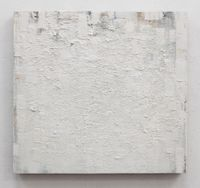 weiss-ztf (zink-titan-flake.weiss) by Peter Tollens contemporary artwork painting