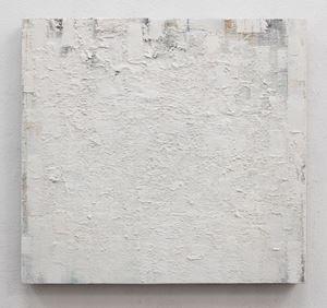 weiss-ztf (zink-titan-flake.weiss) by Peter Tollens contemporary artwork