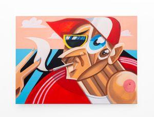 UP YOURS by Callan Grecia contemporary artwork