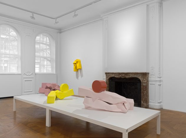 Exhibition view: Carol Bove, David Zwirner, 69th Street, New York (29 April–19 June 2021). Courtesy David Zwirner.
