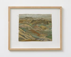 East Otago Landscape by Anne Hamblett contemporary artwork