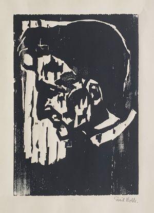 Dr. S. (Max Sauerlandt) by Emil Nolde contemporary artwork