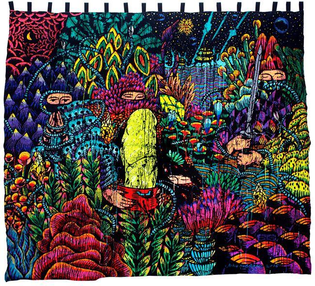 A Pot Full of Peace Spells by Eko Nugroho contemporary artwork