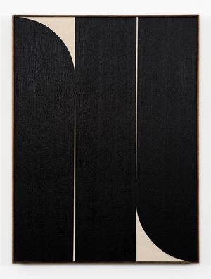 Black #3 by Johnny Abrahams contemporary artwork