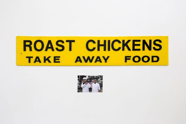 Roast Chickens by Sanjay Theodore contemporary artwork