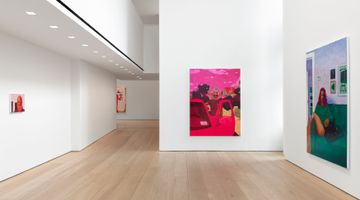 Contemporary art exhibition, Arcmanoro Niles, Hey Tomorrow, Do You Have Some Room For Me: Failure Is A Part Of Being Alive at Lehmann Maupin, 501 West 24th Street, New York