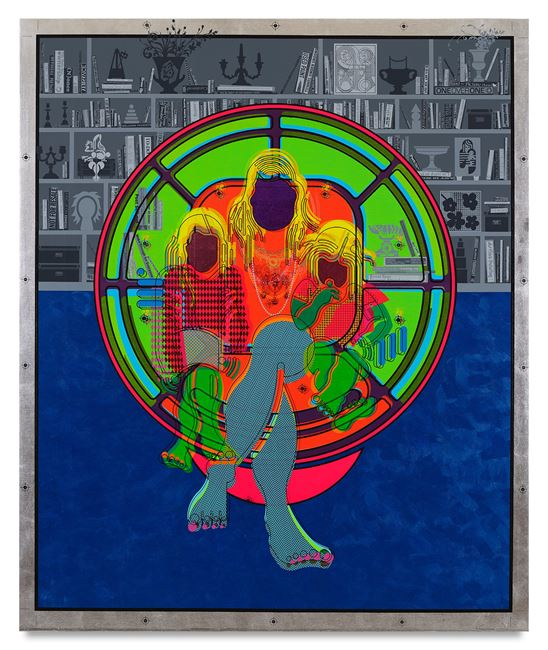 Mother and Child (Ball Chair) A by Ryan McGinness contemporary artwork