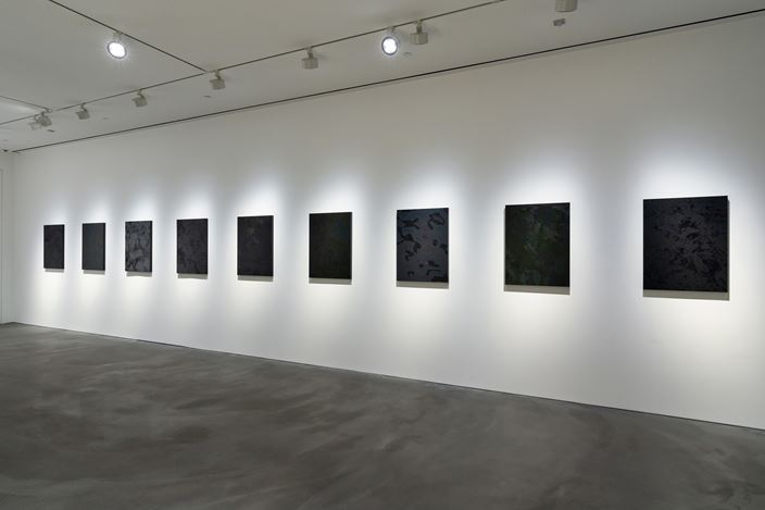 Exhibition view:Kohei Nawa, Recent Works, Pace Gallery, Hong Kong (18 July–29 August 2019).Courtesy Pace Gallery.
