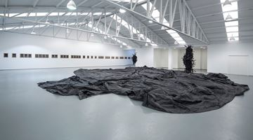 Contemporary art exhibition, Joël Andrianomearisoa, Dancing with the Angels at Sabrina Amrani, Sallaberry, 52, Madrid, Spain