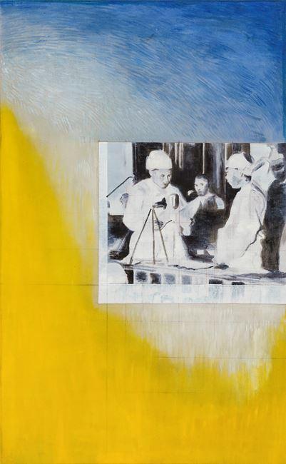 My Grandfather and U Nu 祖父與吳努 by Sawangwongse  Yawnghwe contemporary artwork