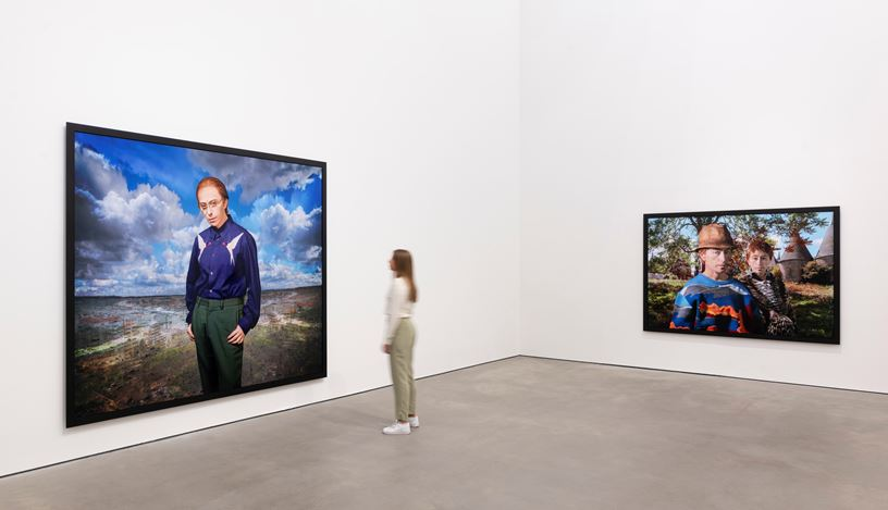 Exhibition view: Cindy Sherman, Sprüth Magers, Berlin (20 November 2020–13 February 2021). © Cindy Sherman. Courtesy Sprüth Magers and Metro Pictures, New York. Photo: Ingo Kniest.