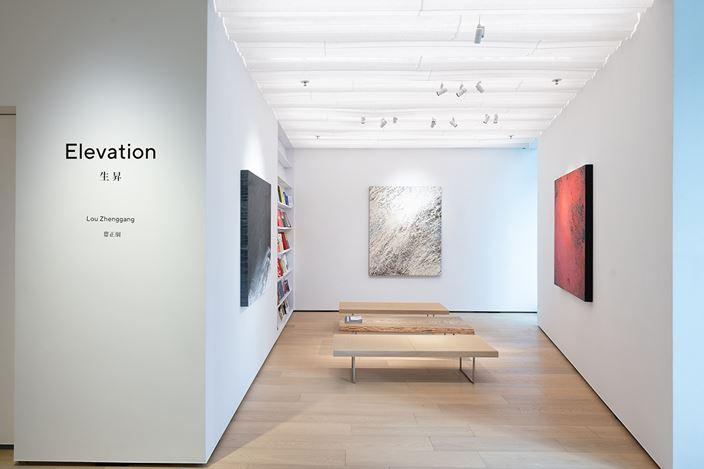 Exhibition view:Lou Zhenggang, Elevation, Whitestone Gallery, Hong Kong (21 November 2020–23 January 2021). Courtesy Whitestone Gallery.