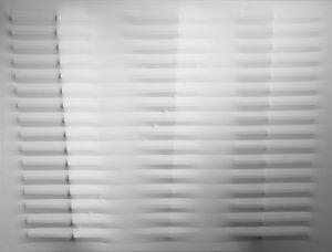 White by Agostino Bonalumi contemporary artwork