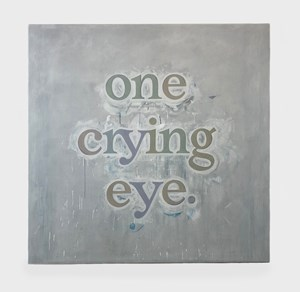 one crying eye. (#5) by Ricci Albenda contemporary artwork