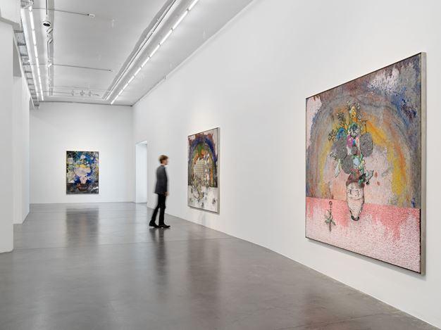 Exhibition view:Matthew Day Jackson, Flowers, Windows and Thistles, Hauser & Wirth, Zürich (12 September–18 December 2020). © Matthew Day Jackson. Courtesy the artist and Hauser &Wirth.