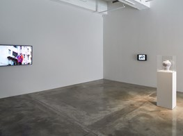 "Curated by Clara M Kim<br><em>Happy Together</em><br><span class=""oc-gallery"">Tina Kim Gallery</span>"