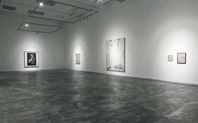 Exhibition view: Group Exhibition, 5 Plus, ShanghART, Beijing (23 February–13 April 2014). Courtesy ShanghART.