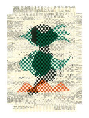 Bonfires-Weaving-21 by Jam Wu contemporary artwork