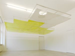 Tooth House, ceiling by Ian Kiaer contemporary artwork